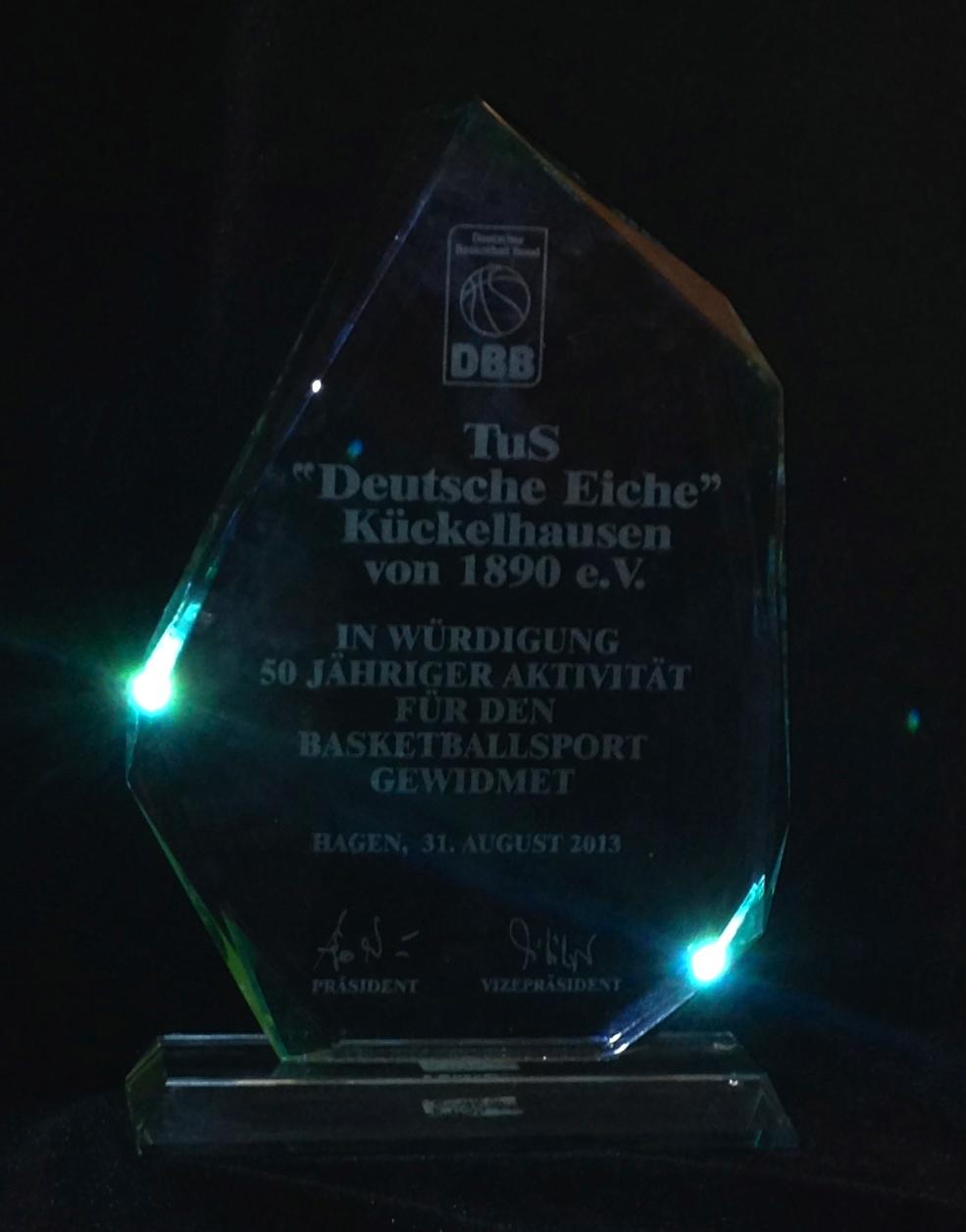 50 Jahre Basketball bei DEK1890 e.V.