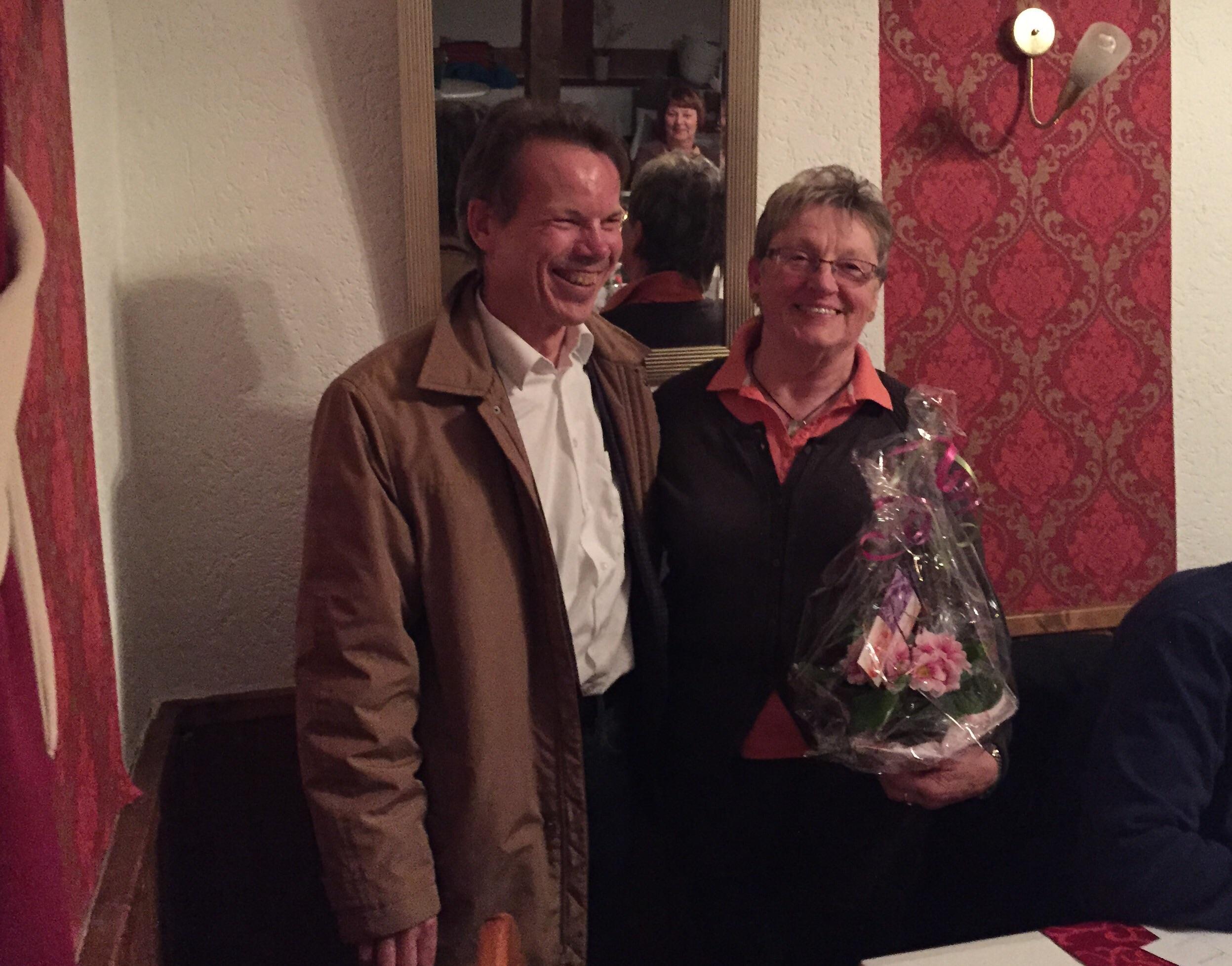 Monika Klähn ist seit 40 Jahren Mitglied bei DEK.