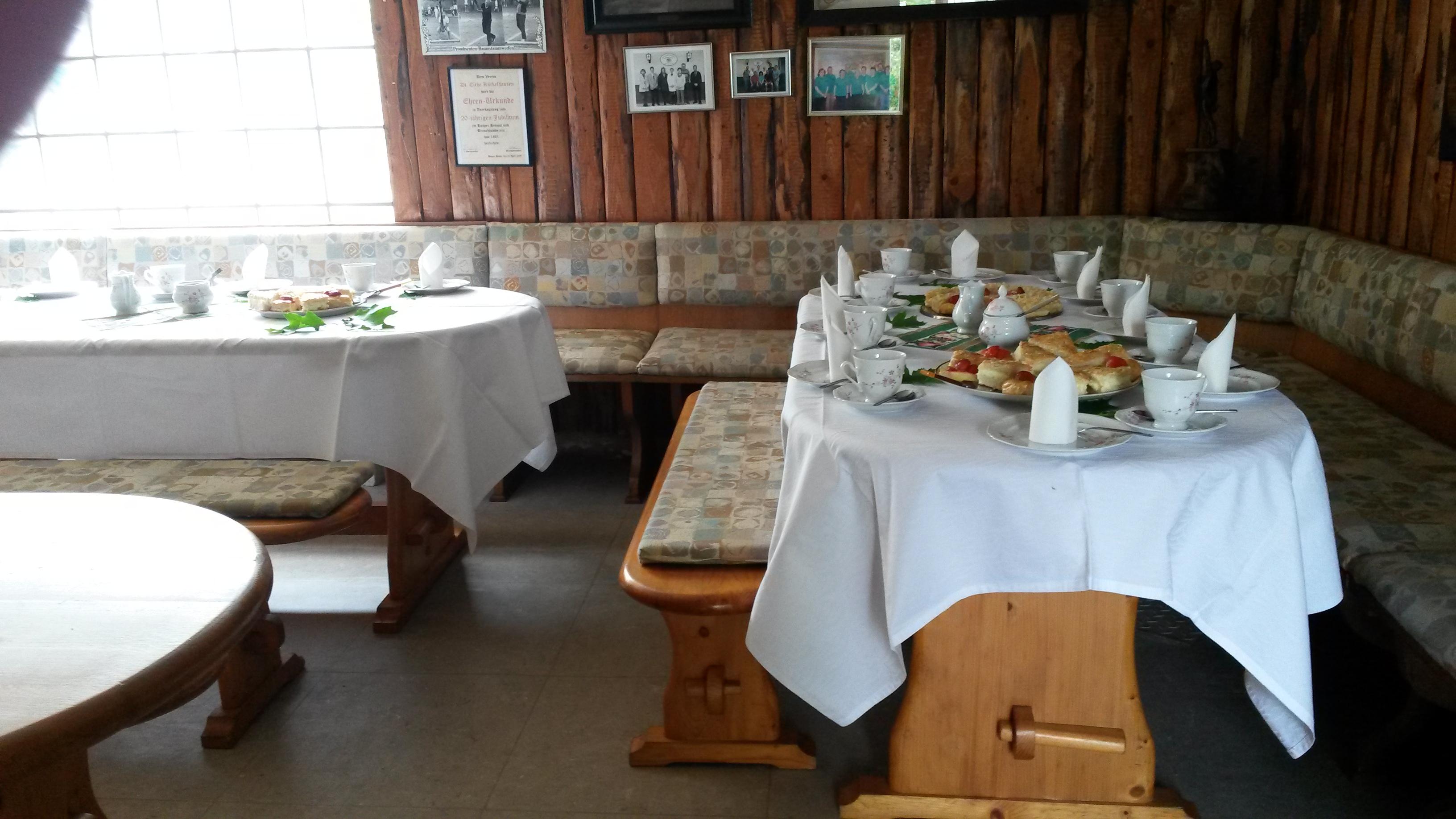 Die Gäste werden im Vereinsheim erwartet.