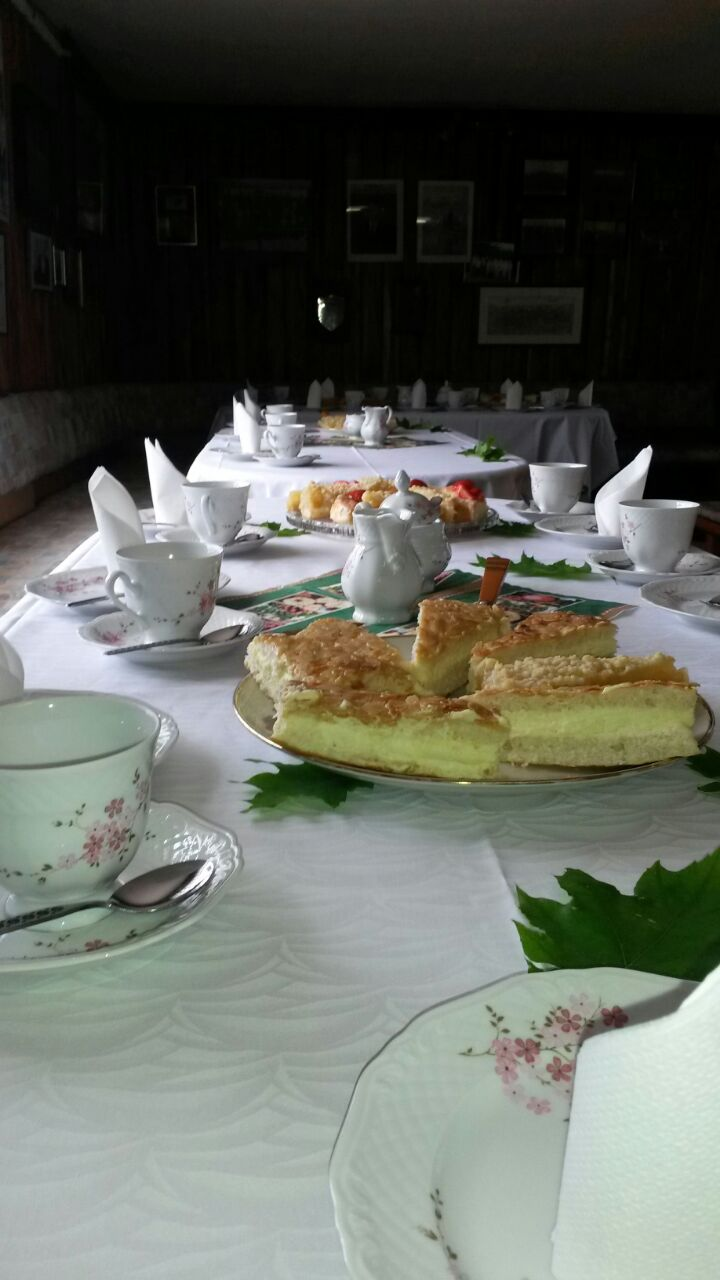 Kaffee und Kuchen erwarte die Gäste