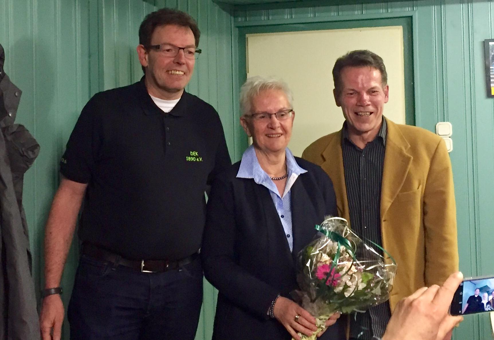 Rita Galhoff ist seit 50 Jahren Mitglied bei DEK.